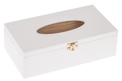 белое коробка Салфетки салфетница ОТКРЫВАЕТСЯ