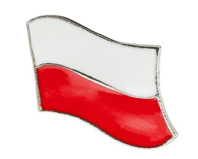 застежка wpinka Марку Powiewająca флаг