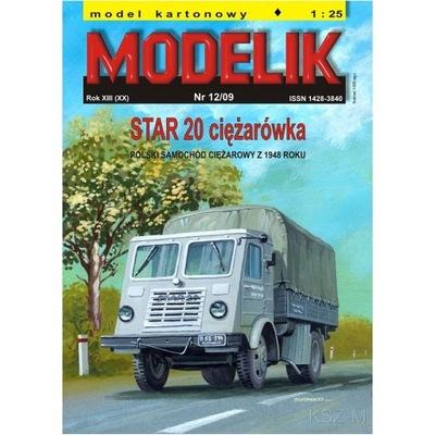 Штампик 12 /09 - STAR 20 грузовик 1 :25