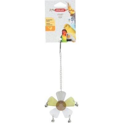 Zolux Игрушка для попугаев Цветок с мелодиями 134049