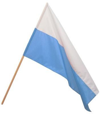 Flaga Maryjna Flaga Maryi biało-niebieska 120x75cm
