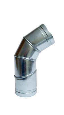 Koleno nastaviteľné 0-90 stupňov 160mm spiro hadice kapota