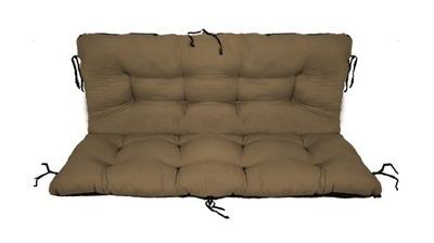 подушка на скамейку садовую качели 150x60x50 без