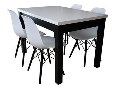 классический стол 4 стульями, посудой