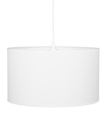Лампа подвесной светильник большой белая круглая Белый абажур