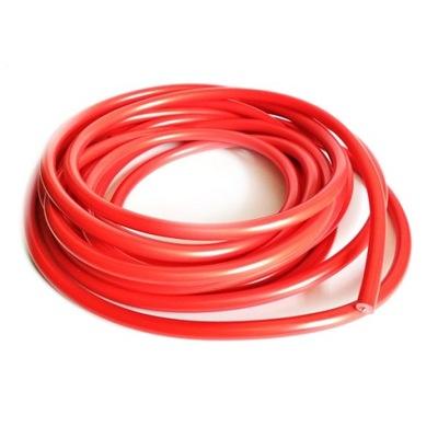 Провод высокого напряжения 6,5 мм кабель красный