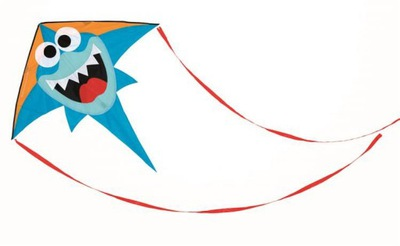 Hračka pre deti - Kite Shark Veľký Scratch Wawer