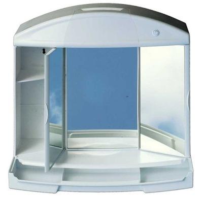 тумба для ванны подвесной светильник с зеркалом освещение-