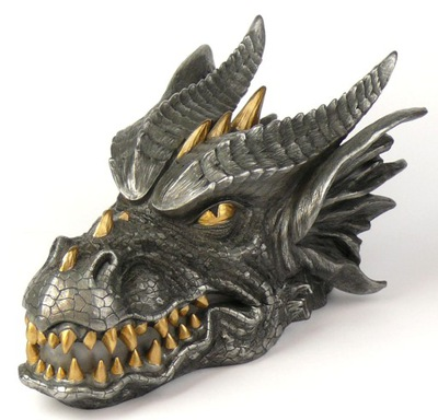 КРАСИВАЯ ШКАТУЛКА ГОЛОВА ДРАКОНА ВЕРОНЕЗЕ дракон подарок