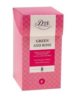 чай Diemme Green Tea and Rose 12 сумок 3 Г