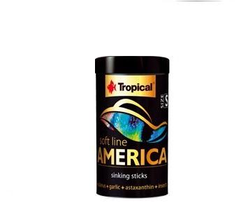 TROPICAL Pokarm AMERICA SOFT LINE S 250ml dla RYB
