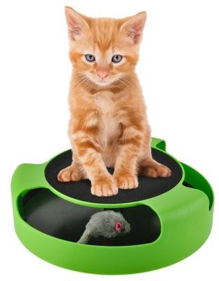 Игрушка Для Кота Работает Мышь кольцо с Мышью