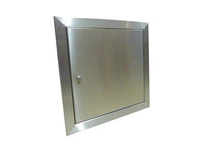 Revízia dvere z nehrdzavejúcej ocele ostrenie držiteľ 50x70