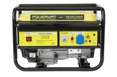 Generátor, príslušenstvo pre generátor - Generátor generátora GENREGAT 3000W 230V AVR OIL