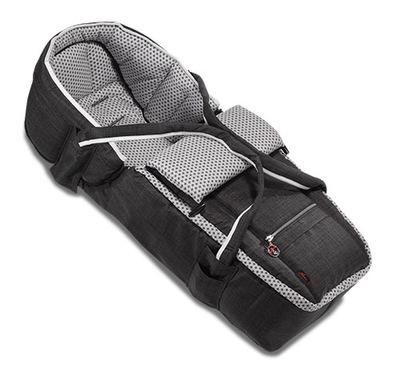 Vanička do kočíka - Mäkká polka dot gondola pre vozík HARTAN VIP XL