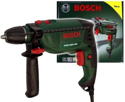 Vŕtačka, vrták - DRILL 680W PSB 680 RE BOSCH