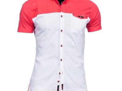 KK3101 Koszula męska, krótki rękaw, rozm XL 4243 7350134041  8bOCe
