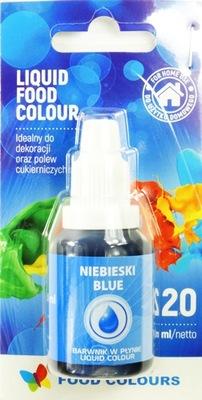 Пищевые красители в жидкости Синий 20 МЛ