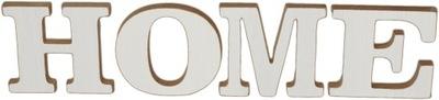 Stojący Napis z liter HOME dekoracja Ozdoba