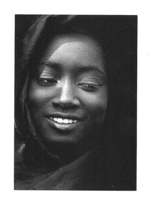 П / я.- Портрет красивой женщины из Мали, Африка и Z.