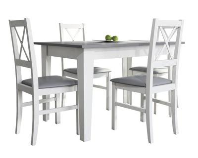 Белый стол ??? кухни + 4 стулья ?????????? комплект