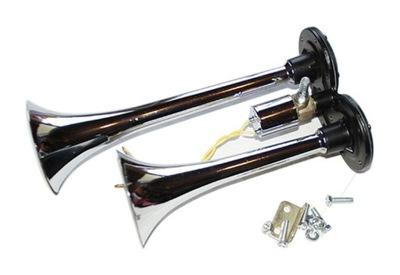 пневматический сигнал, клаксон, звуковой сигнал 12 /24V клапан