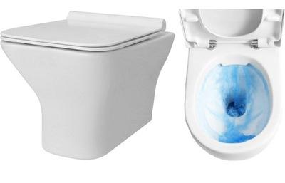 WC misa - WC misa Bruno Rimless WC s doskou Duroplast