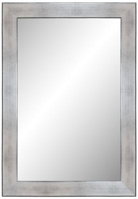 зеркало в раме 160x60 srebrnoczarny + ШТЫРЬКИ
