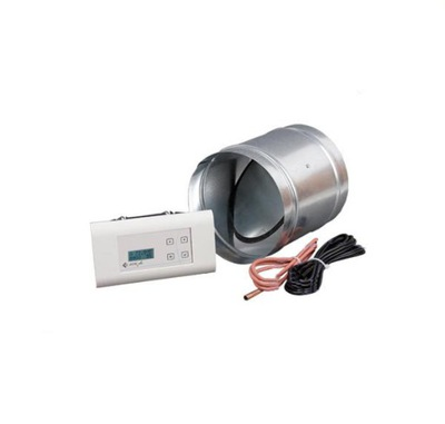 Regulátor rýchlosti - Krbový regulátor s klapkou MS 100 PLUS