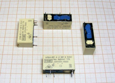 Przekaźnik 3V DC [8A/250V] BISTABILNY FEME [+/-]