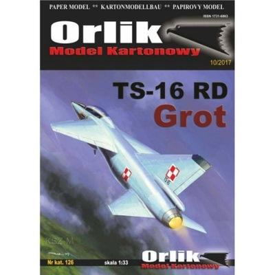 Орлик 126 - Самолет TS-16 RD ГРОТ 1 :33