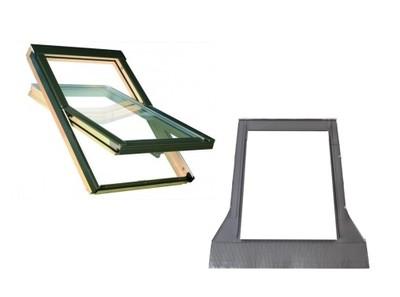 Окно-окна крыши OptiLight B 66x118 см + воротник