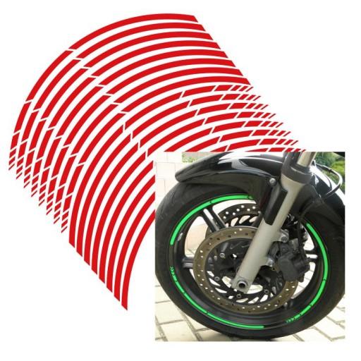 наклейки paski колеса дисков рант honda suzuki aprilia, фото