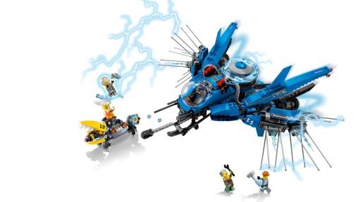 LEGO Ninjago Movie Odrzutowiec Błyskawica 70614