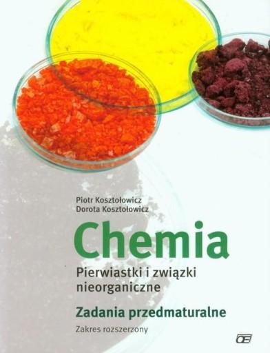 Chemia Pierwiastki i związki nieorganiczne Zadania