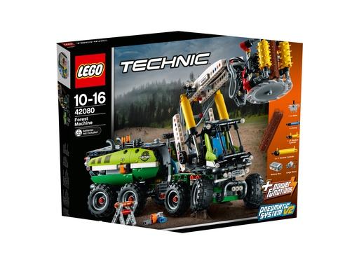 Klocki Lego Technic Maszyna Leśna 42080 7541774135 Allegropl