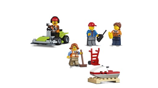 LEGO City Town Klocki Terminal towarowy 60169