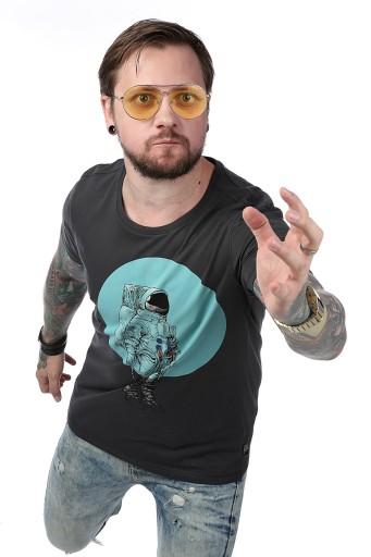 T-shirt męski Astronauta Legendy Polskie M