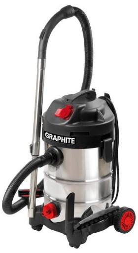 odkurzacz przemysłowy graphite 1500w 59g607 30l opinie