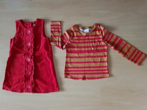 Śliczna sukienka bluzka firmy Next r. 92 j. nowa
