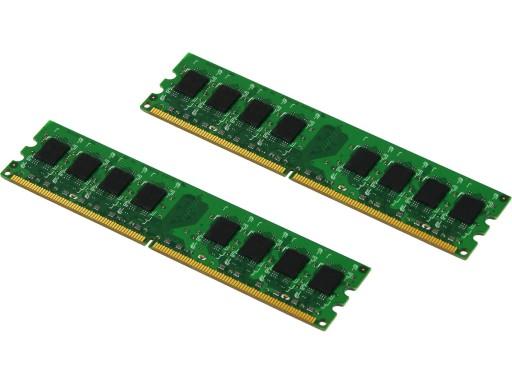 PamiĘĆ Ram 4gb 2x2 Ddr2 Pc2 6400u 800 Fvat Gw 12m