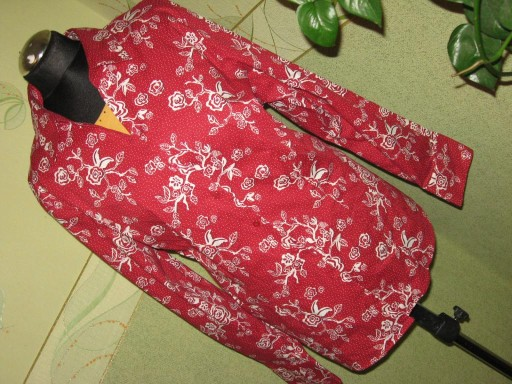 H&M BB-bluzka r 50 XXXL koszulowa czerwona