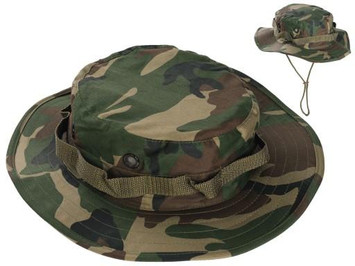 KAPELUSZ Vietnam Jungle Hat US WOODLAND Moro XL