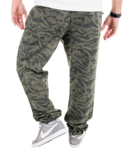 Spodnie Męskie Dresy Army Moro Joggery Baggy XXL 6796416831 Odzież Męska Spodnie HW AKKBHW-4