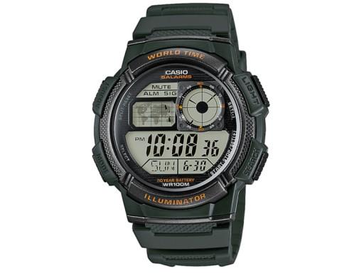 Zegarek dla chłopca komunia CASIO AE-1000W-3AVEF