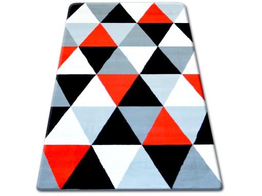 Dywany łuszczów Flash 160x225 Trójkąty B093