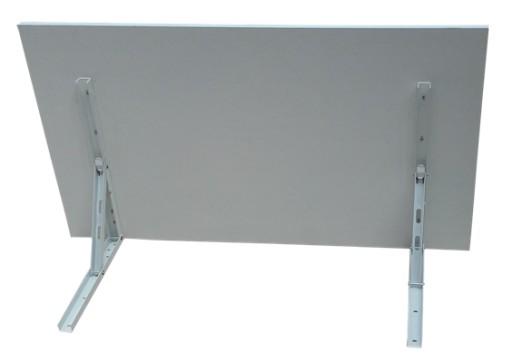 Stół stolik składany ścienny 80x50 rozkładany 8kol