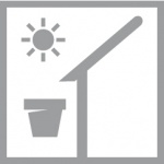 Doniczka Elho Flower light solar LED bezprzewodowa
