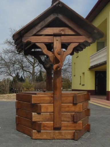 Studnia Drewniana Meble Ogrodowe Z Bala 7714295613 Allegro Pl