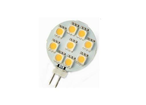 Żarówka G4 9 LED SMD 170lm zasilanie 12V DC